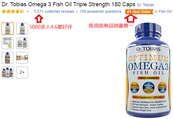 1888 for Dr tobias fish oil